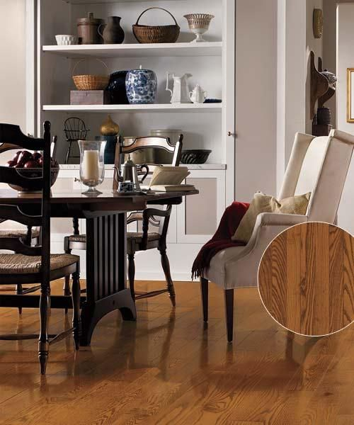 Mood Warm Oak Kitchen Dining Chair With Dark Brown: All About Prefinished Wood Floors