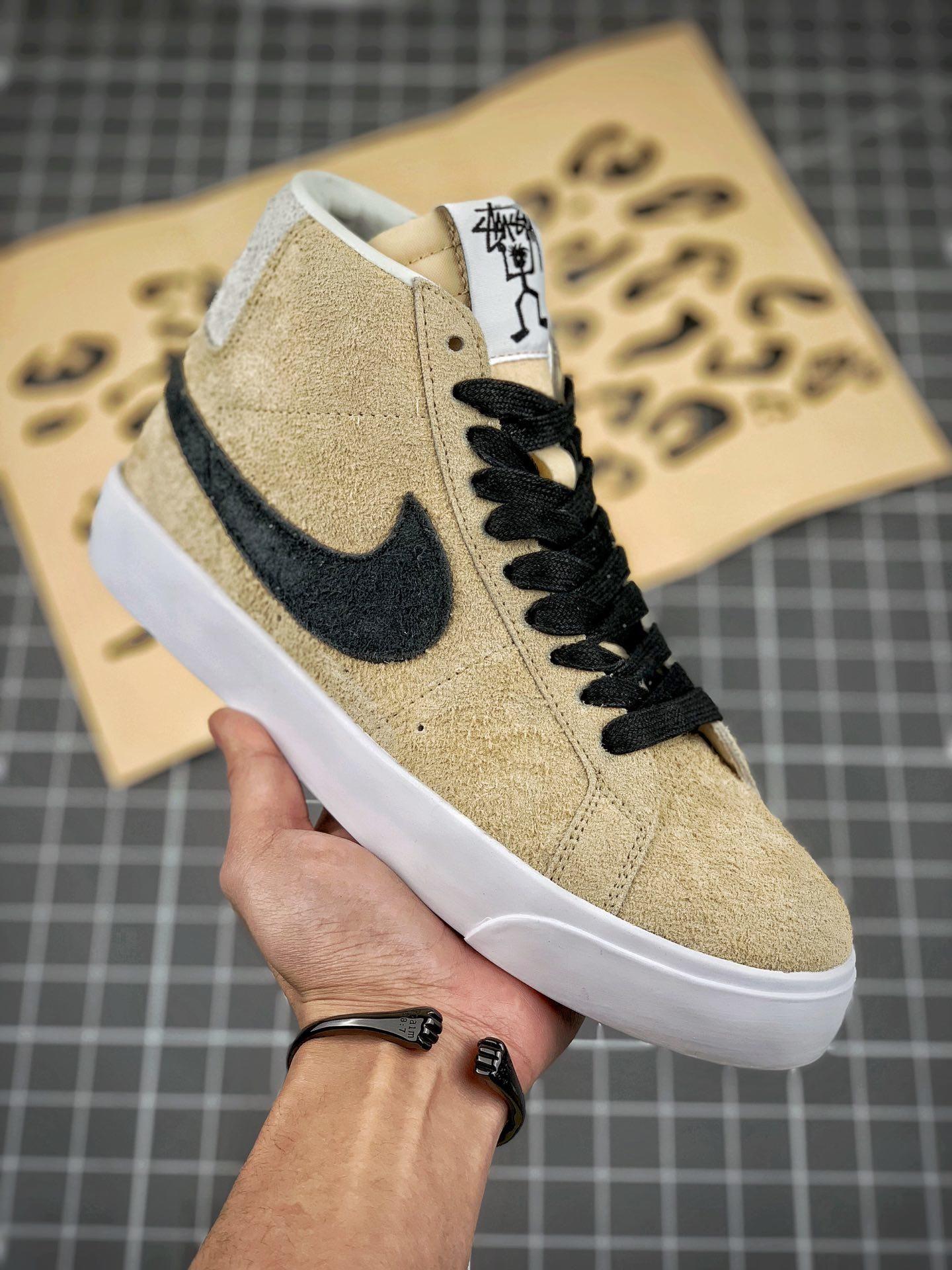 new styles 73aac 7284a 2019的Stüssy x Nike SB Zoom Blazer Mid AH6158-700 | NIKE