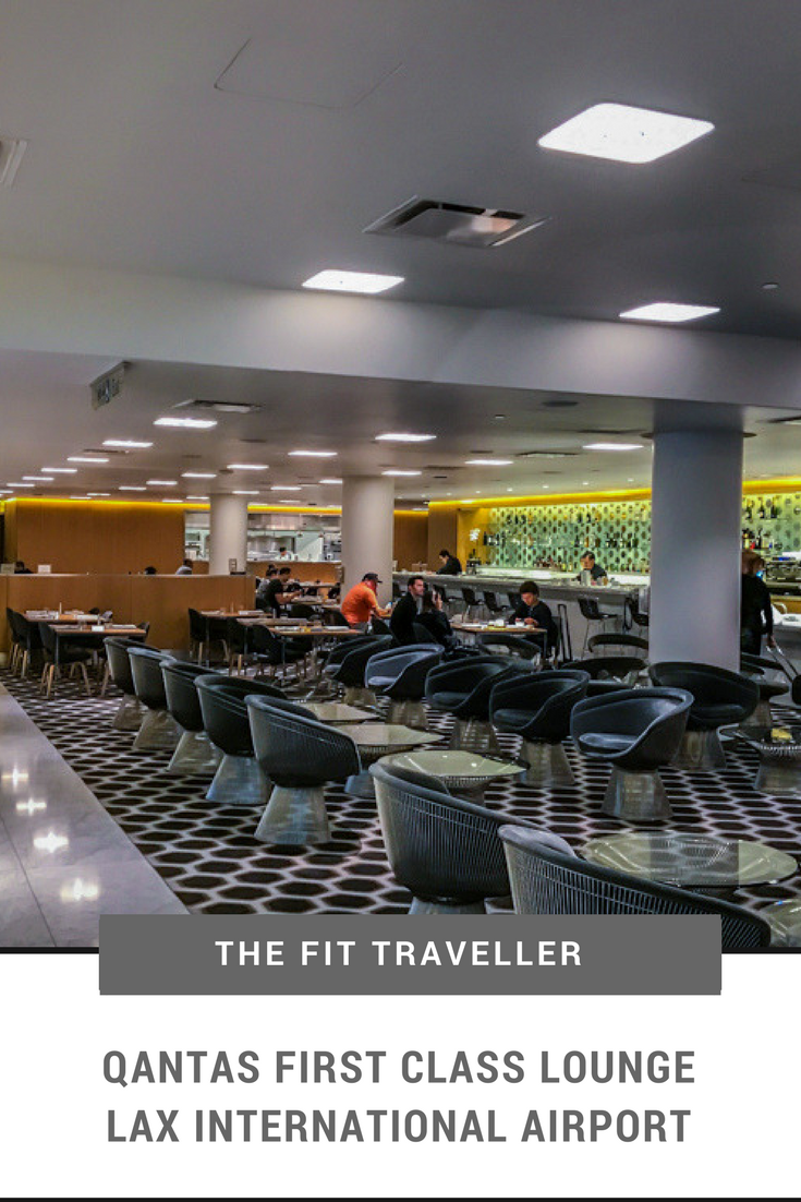 Qantas First Class Lounge Lax International Airport The Fit Traveller Lounge Workplace Office Decorating Ideas Airport Lounge