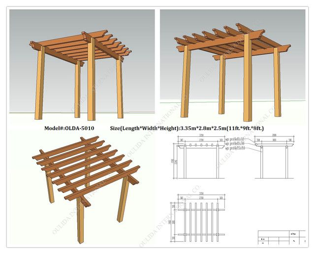 Plans To Build Pergola Free Plans Pdf Download Pergola