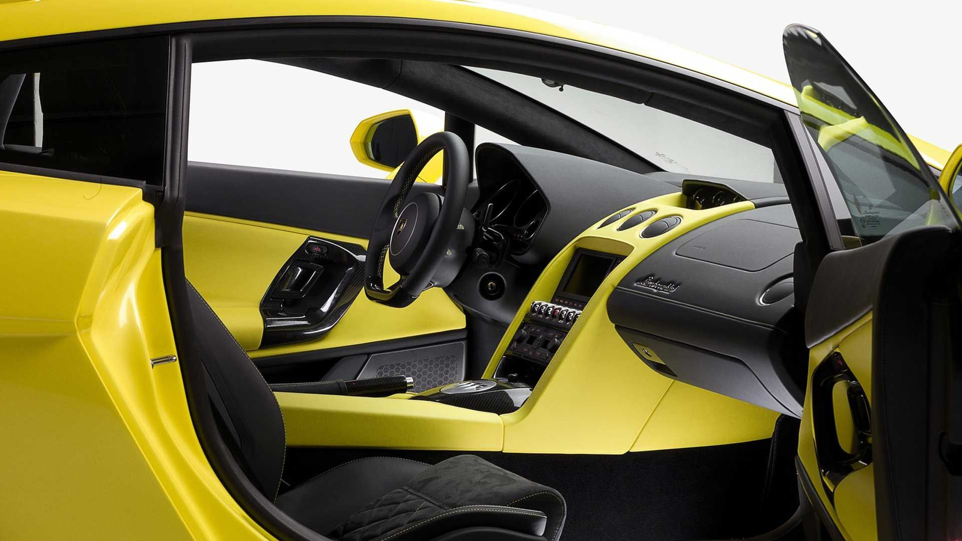 Interior Lamborghini Gallardo LP560 4