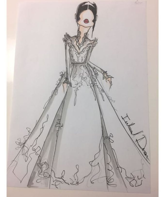 Sehen Sie hier die ersten Entwürfe für Meghan Markles Brautkleid ...