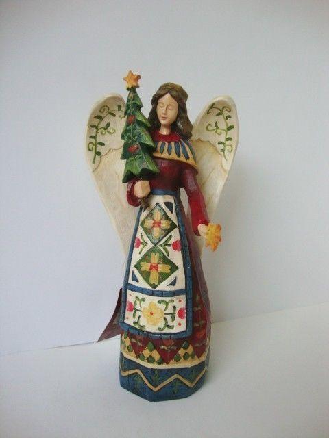 Winterland Christmas Tree Angel Figurine St Nicholas Square #ChristmasAngel #StNicholasSquare