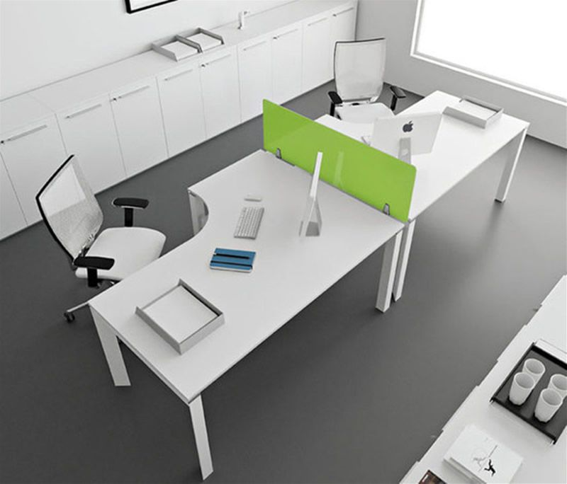 office seating design ideas modern office furniture design ideas entity office desks by antonio morello 1 - Modern Office Design Ideas