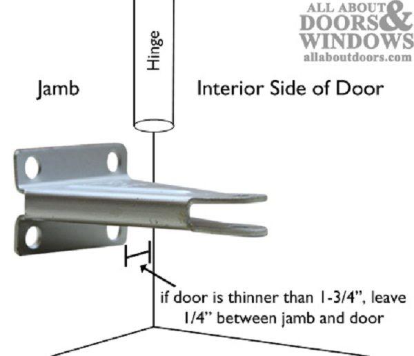 Pella Storm Door Jamb Closer Bracket Door Designs Plans Storm