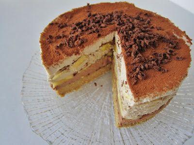 Fragrant Vanilla Cake: Raw Banana Tiramisu