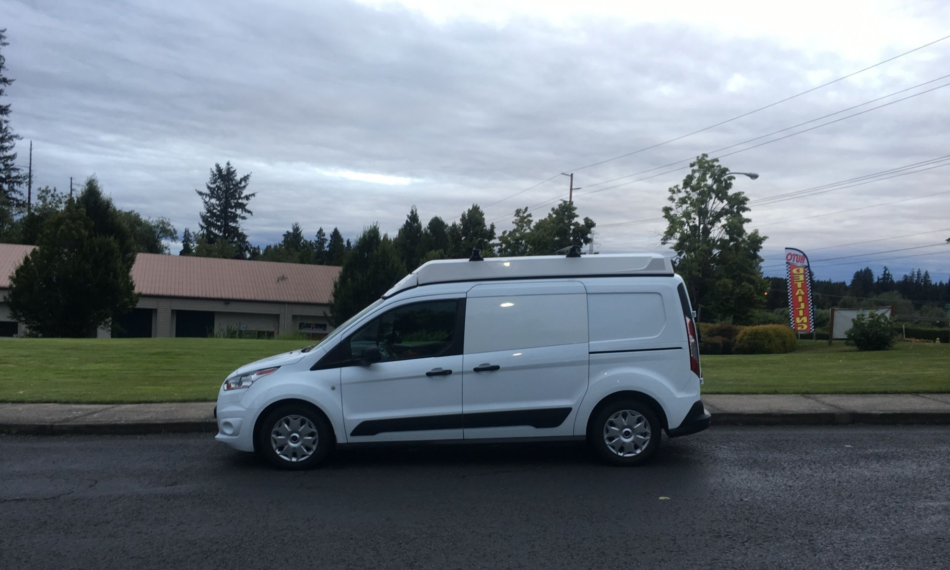 Ursa Minor Vehicles Ford Transit Connect Lwb Cargo Van