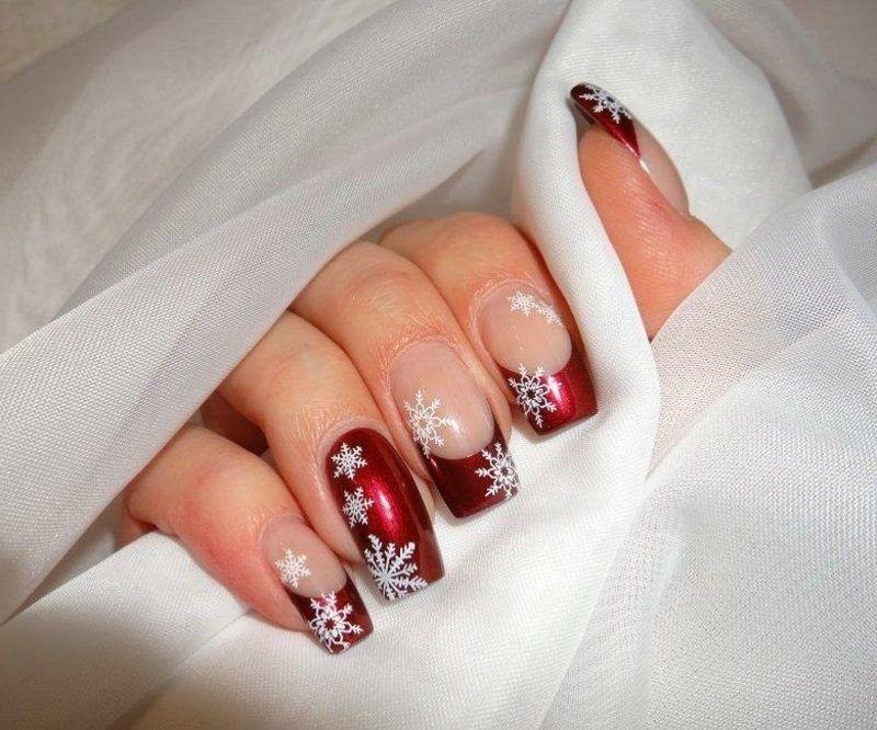 Gelnägel Weihnachten Bilder.Trendiges Nageldesign Zu Weihnachten Gelnägel Nägel Rot