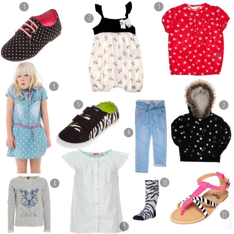 kiabi selection shopping enfant fille shopping pinterest v tements ados ado et filles. Black Bedroom Furniture Sets. Home Design Ideas