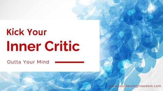 Has your inner critic's voice stepped in and said you can't do this or that lately?  You may have been really excited about it… and then the negative thoughts start.  Those negative thoughts really burst your bubble, right?  Wouldn't you like to just have them leave your mind and stay gone?