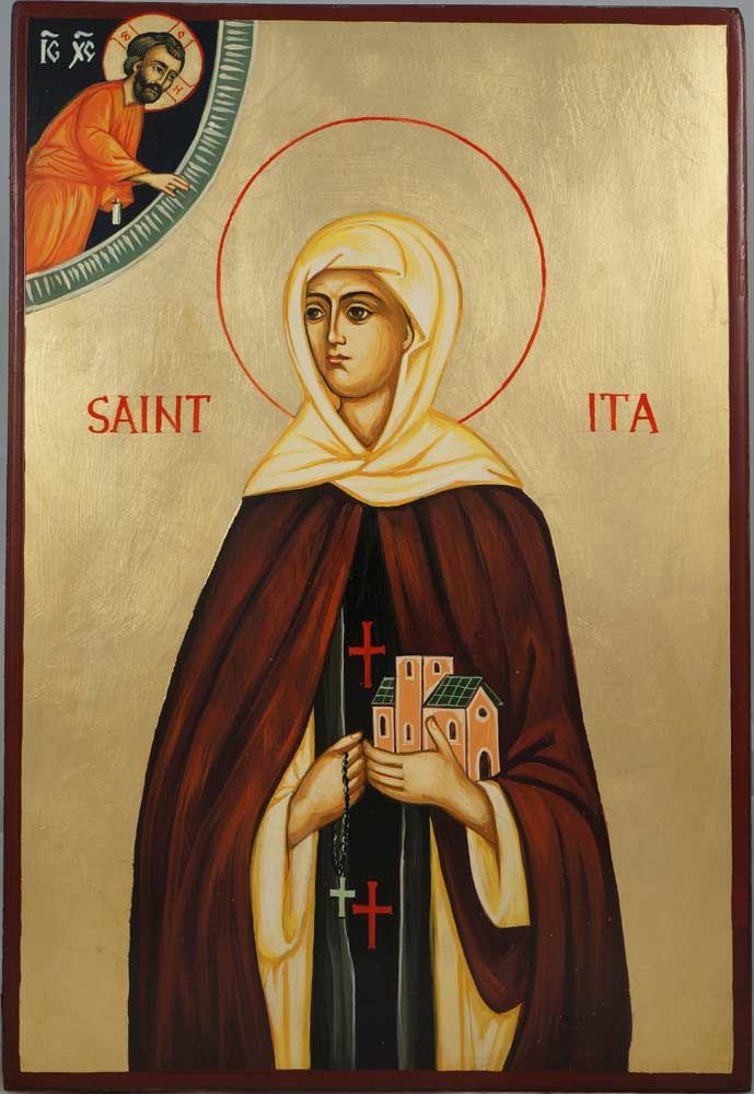 Image result for saint ita of killeedy