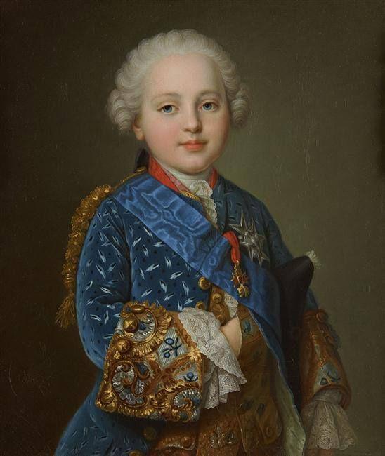 Louis-Auguste, Duc de Berry, futur Roi Louis XVI, par Jean Martial ...