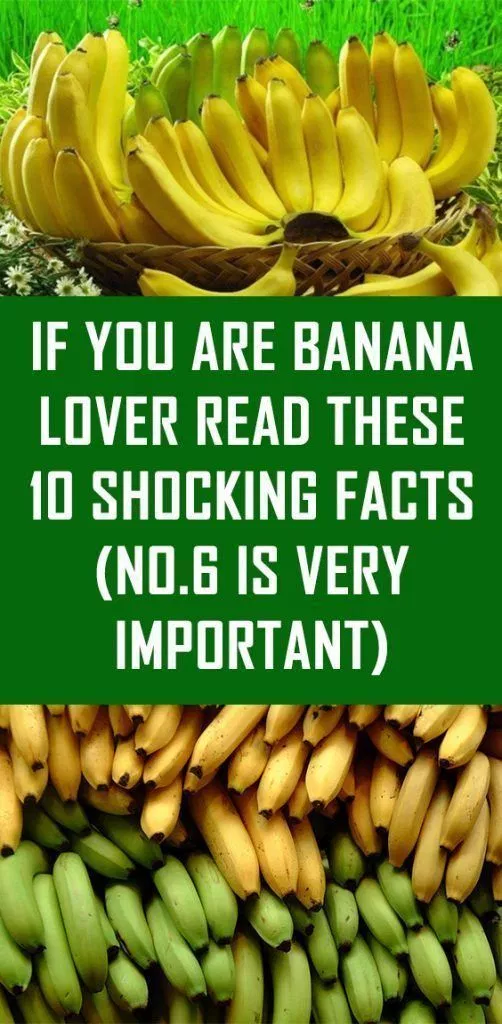 If You Are Banana Lover Read These 10 Shocking Facts (No.6 Is Very  Important) - Healthy Beauty Ways   Banana lovers, Health, Healthy