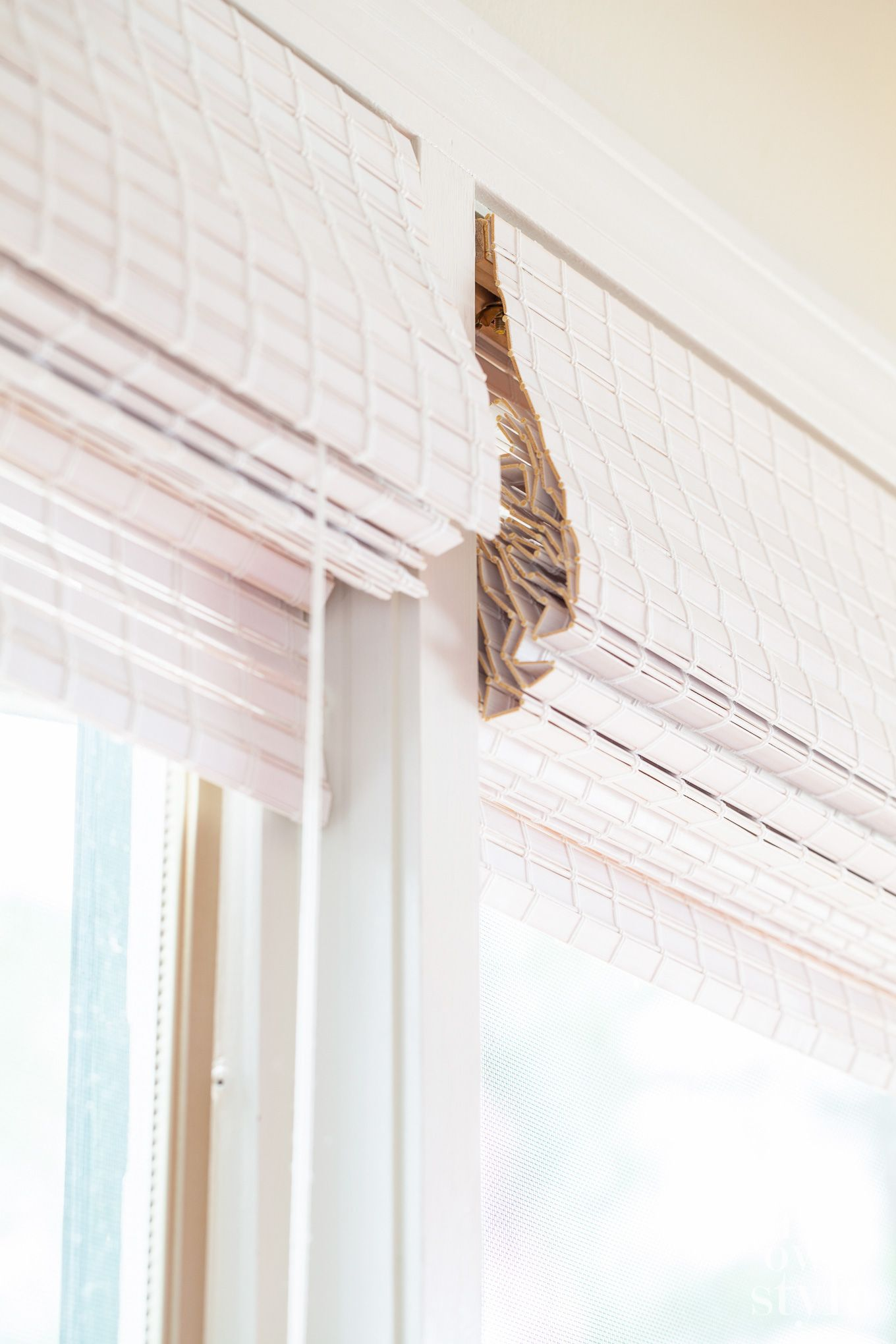 white bamboo blinds canada white bamboo window shades in my own style bloggers best diy