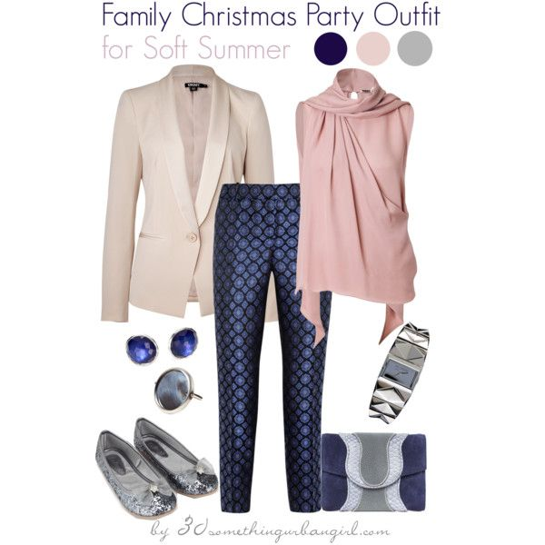 086e782346f4 Family Christmas Party Outfit Holiday look for Soft Summer by  thirtysomethingurbangirl on Polyvore
