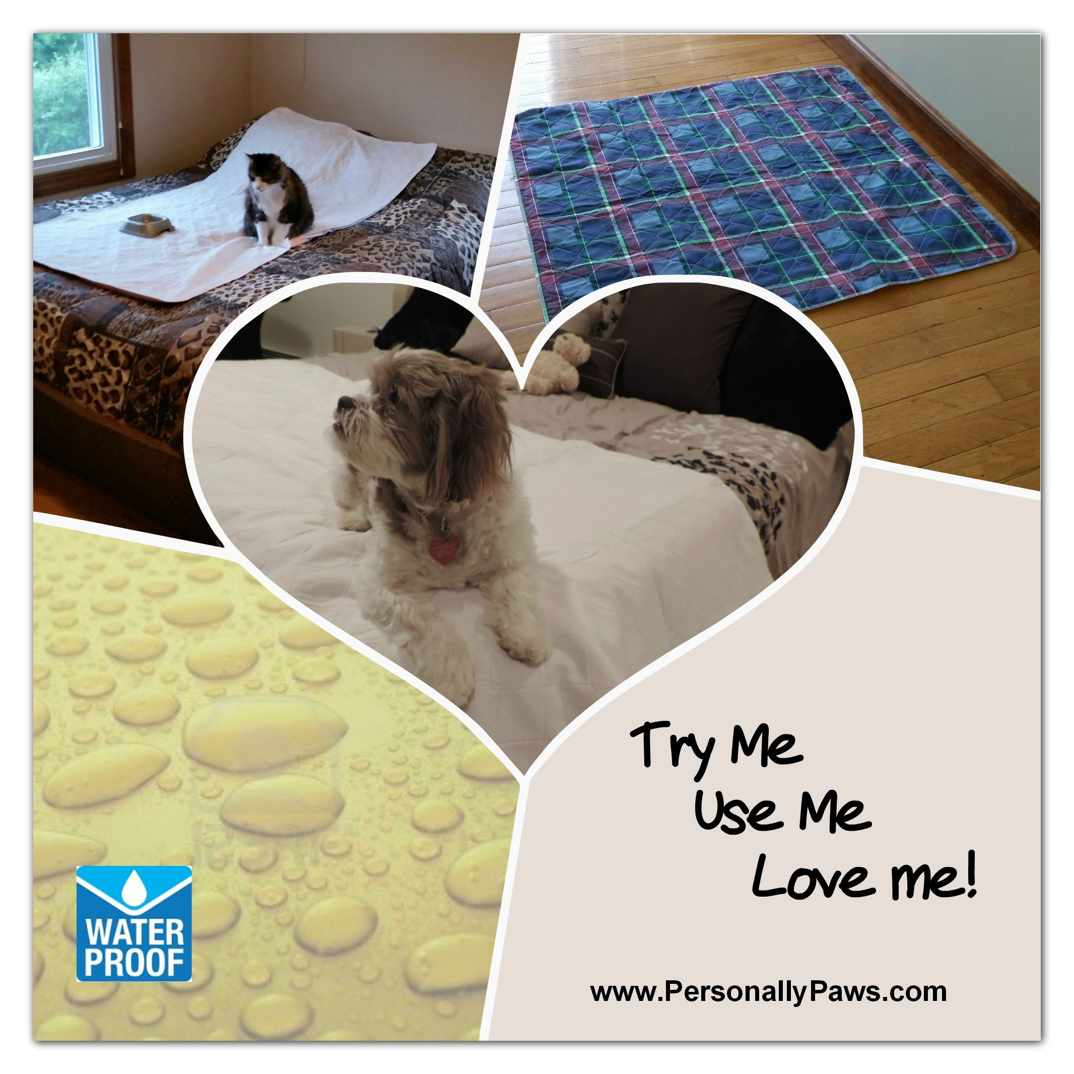 More Value More Variety More Than Just Washable Wee Wee Pads Leakproof Reusable Pet Pads In A Variety Of Sizes Style Pet Pads Reusable Pet Pads Potty Pads