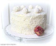 Raffaello Torte - Traum in weiß