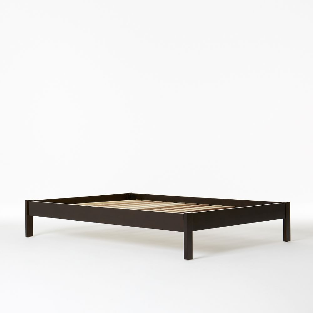 Photo of Simple Bed Frame – Chocolate