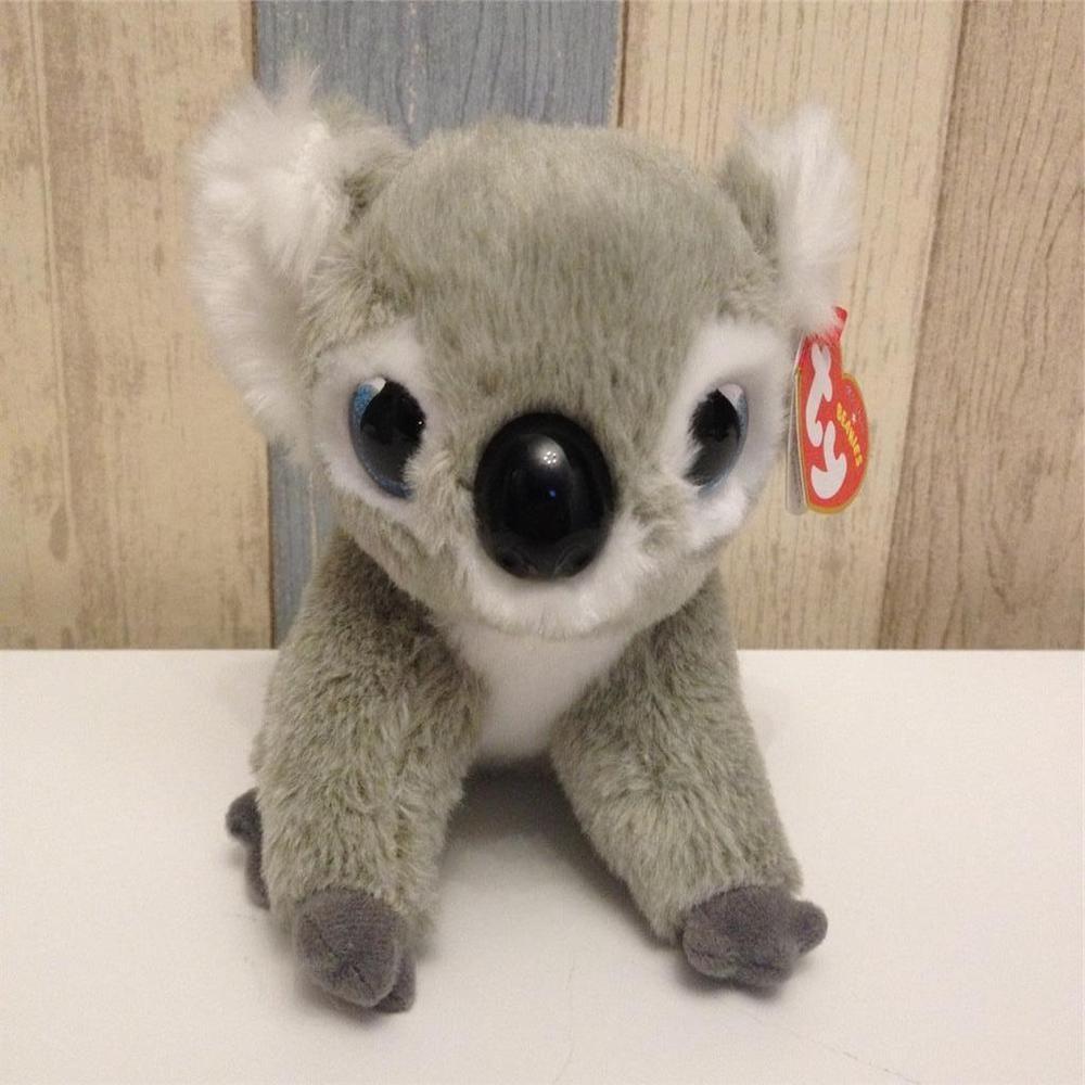 a0a4652b3c1 Ty Beanies Regular sz KOOKOO the Grey Koala NWMT New