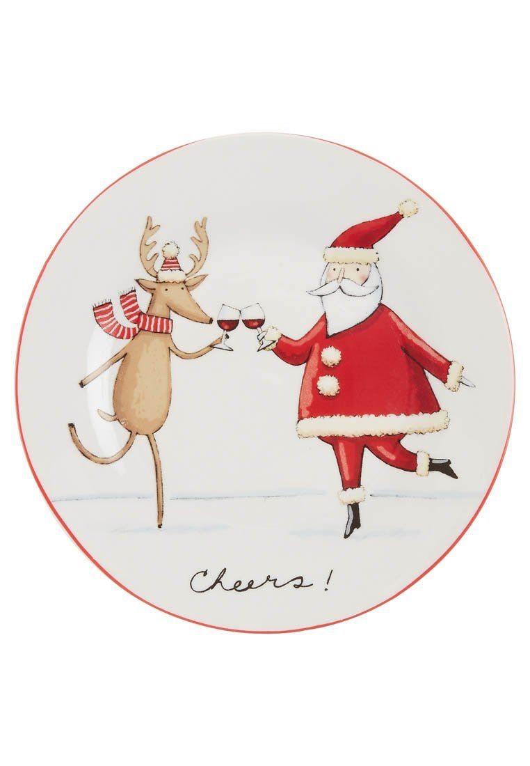 Hoff - CHEERS - SET OF 4 - Bord - Rood - Christmas - kerstmis