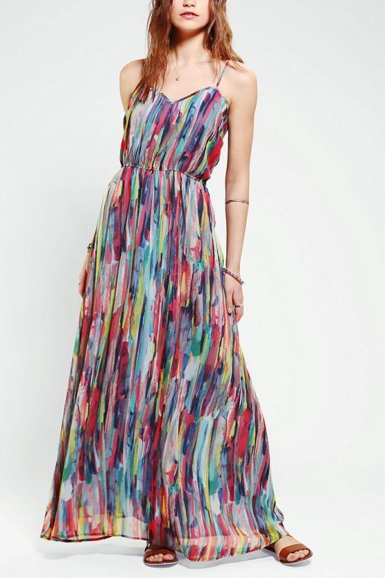 Bayberry Chiffon Maxi Dress Chiffon Maxi Dress Chiffon