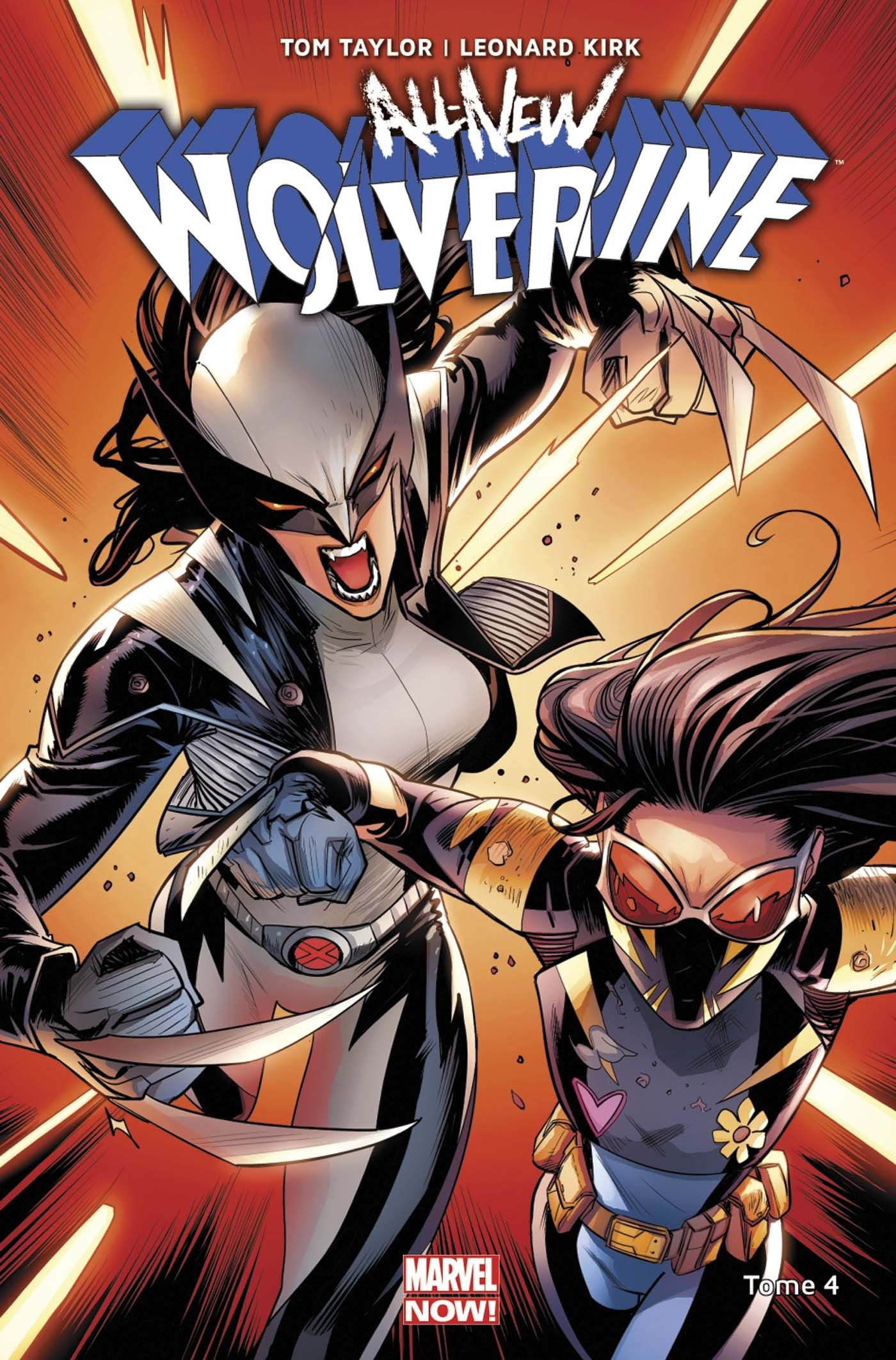 All New Wolverine 4 Immunisee Tom Taylor Leonard Kirk En 2020 Marvel Captain America Heroine