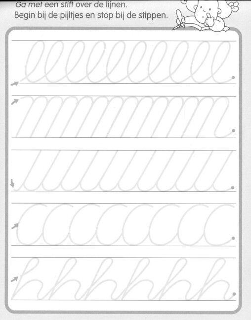 pin by lenka py ov on d ti pracovn listy psan preschool writing cursive writing worksheets. Black Bedroom Furniture Sets. Home Design Ideas
