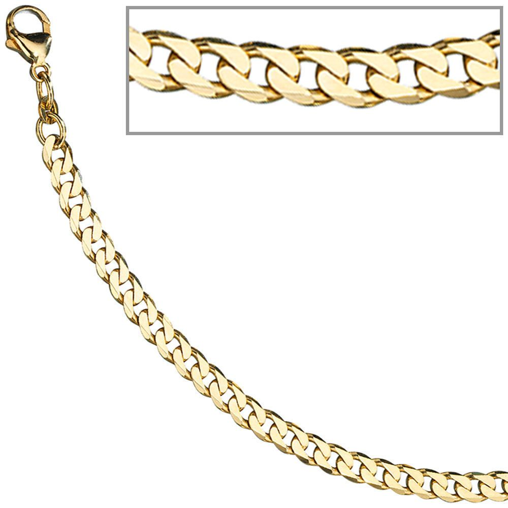 Charm armband gold 333