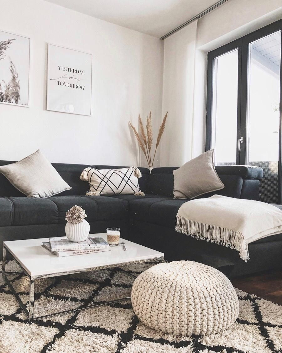 Ein bisschen umgestalten im Wohnzimmer… #cozy #nat…