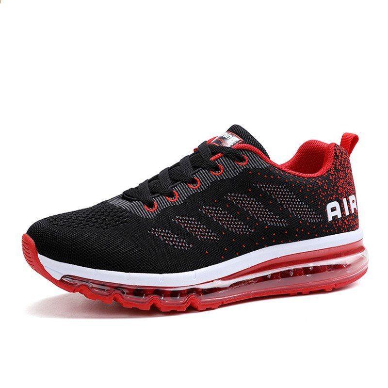 Jinbaok Air Cushion Sepatu Lari Bernapas Nyaman Sneakers Pria