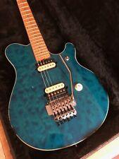 #1993 Ernie Ball Music Man EVH Van Halen Guitar Trans Blue ...