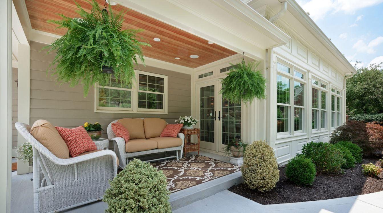 Fachadas de porches de casas sencillas imajenes de porches o terrasas de casad porches de - Porches de casas de campo ...