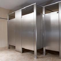 Stainless Steel Partitions Bradley Corporation Bathroom Partitions Stainless Steel Bathroom Commercial Bathroom Designs
