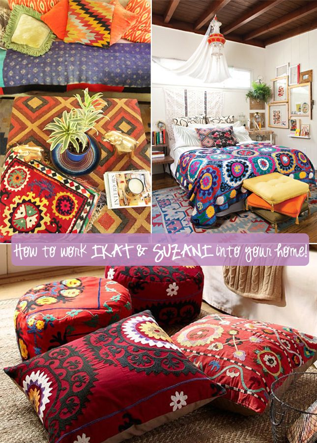 Happy Interior Blog: Win A Suzani Cushion And Get Inspired