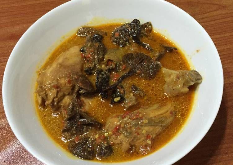 Resep Ayam Kulat Khas Bangka Oleh Rin Resep Resep Masakan Indonesia Resep Ayam Resep Masakan