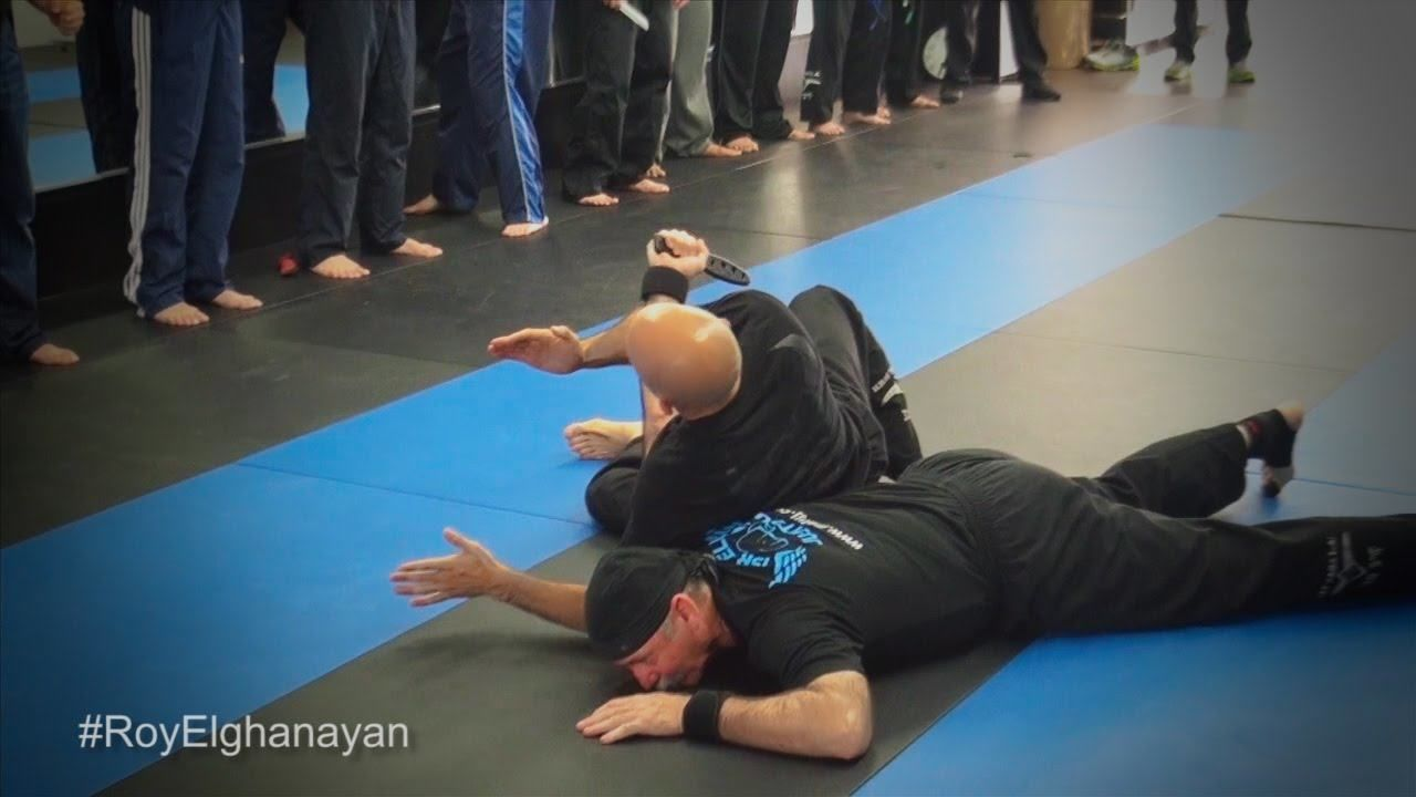 """cool Ways to Defense Yourself from a Knife Attack Threat by """"Roy Elghanayan's Krav Maga"""""""
