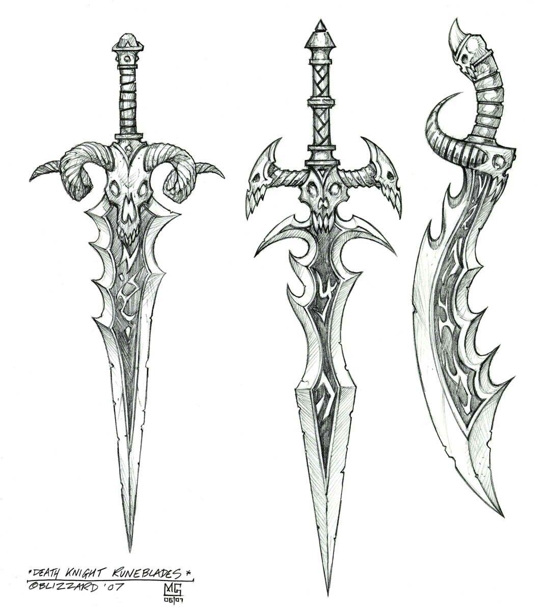 Espadas01201 Dibujos De Armas Arte De Espada Espada Dibujo