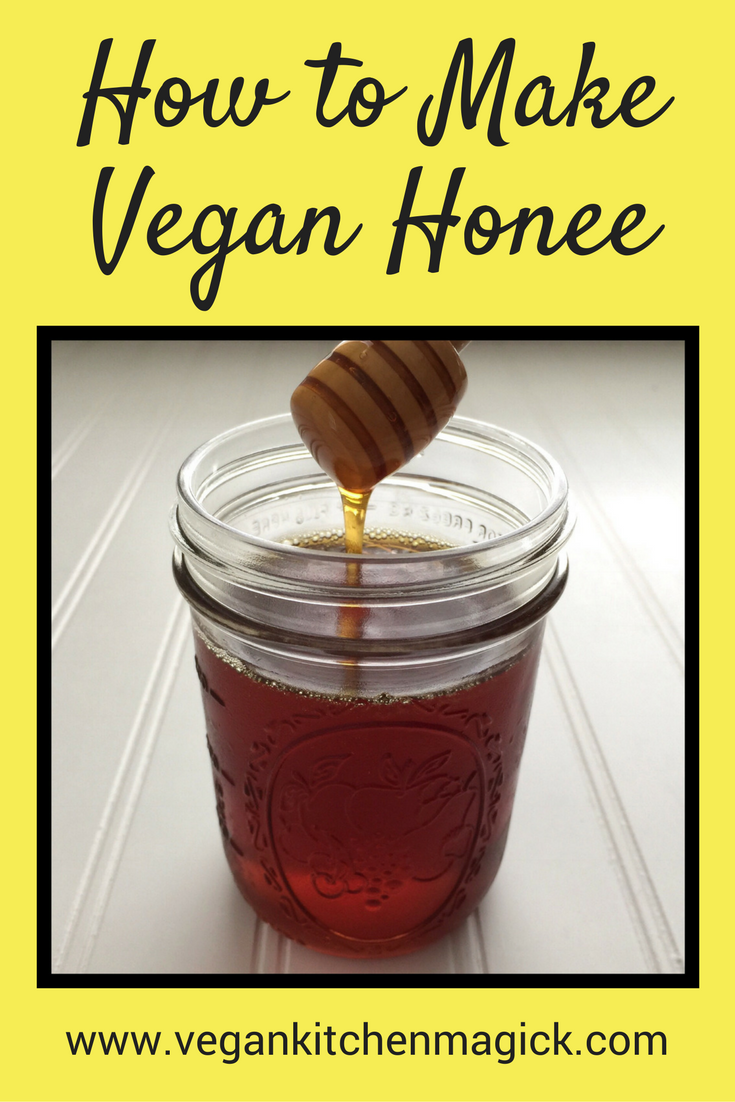 How To Make Vegan Honee Recipe Vegan Honey Recipe Honey Recipes Apple Honey Recipe