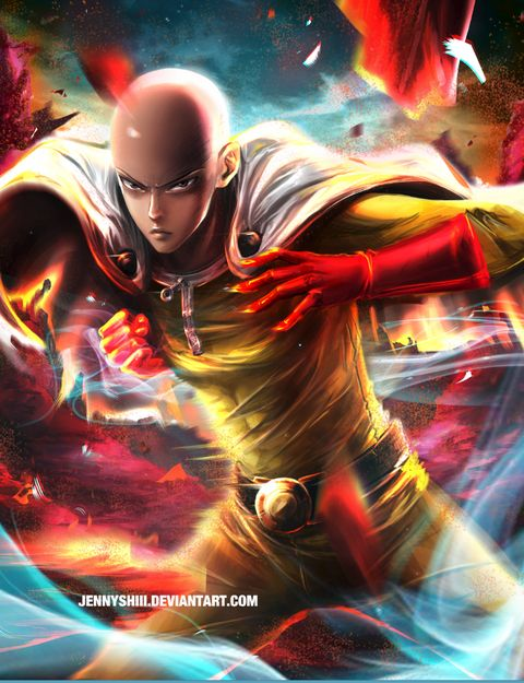 One Punch Man , ワンパンマン, サイタマ」/「jennyshiii」の