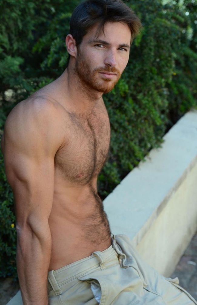 Saturday: Hot, hunky, hairy Arnaud Dehaynin — Project Q Atlanta