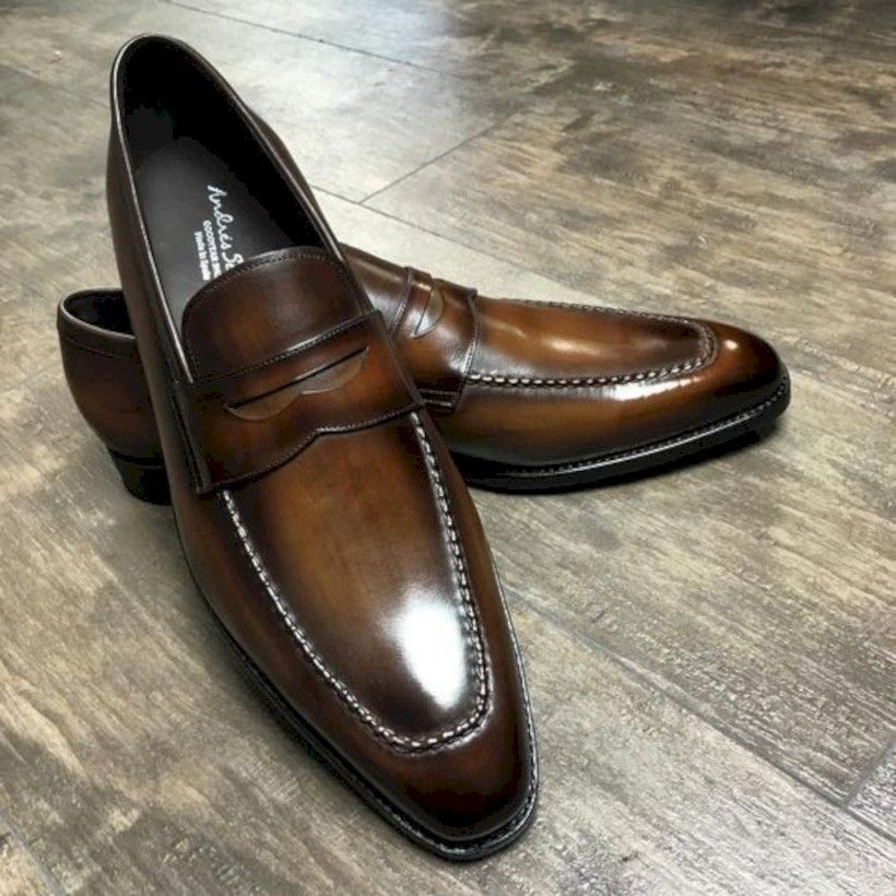 45 Amazing Leather Shoes for Men Formal Outfit is part of Shoes mens - Many things depend on your clothes, circumstances, and whether you are trying to dress your clothes or dress  Rich brown […]