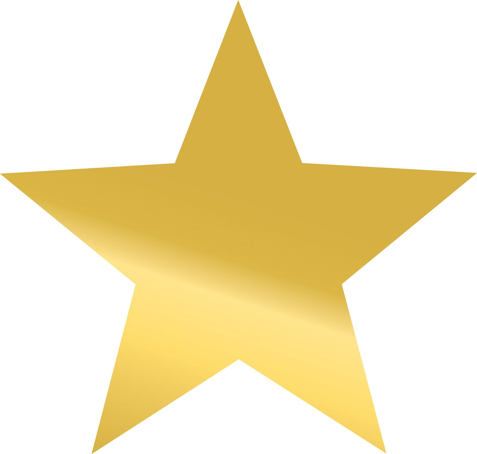 Gold STAR Template ClipArt Best Projects to Try – Star Template