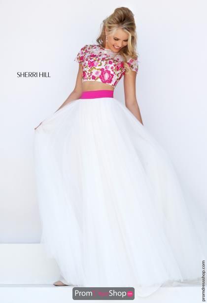 Sherri Hill Two Piece A Line Dress 50325