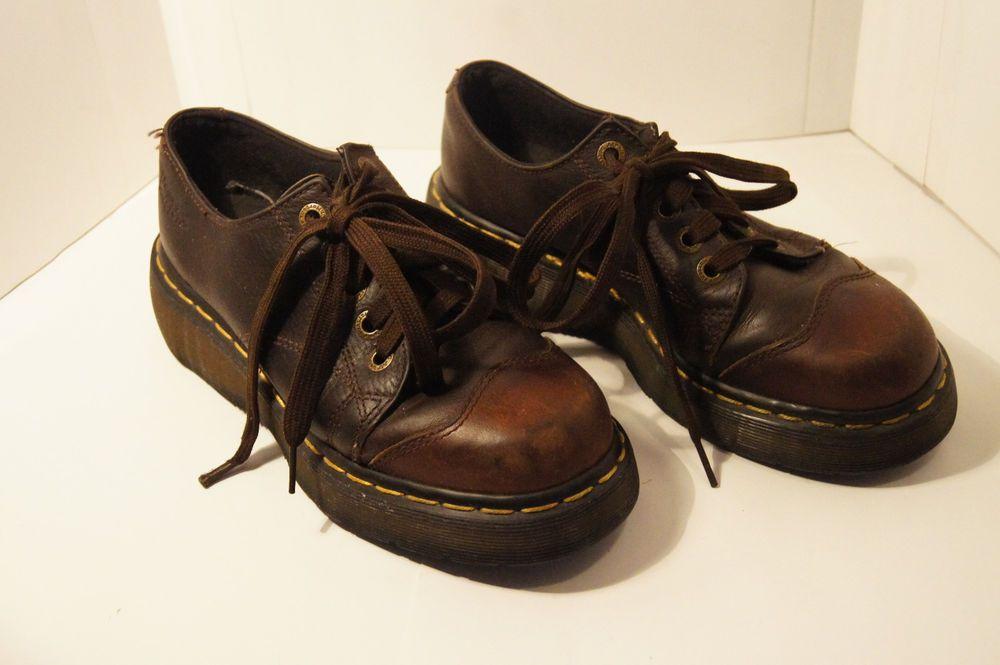 Dr Martens Vintage shoes Mens 7 - Womens 8 Leather 90s  DrMartens ... c647261be92d