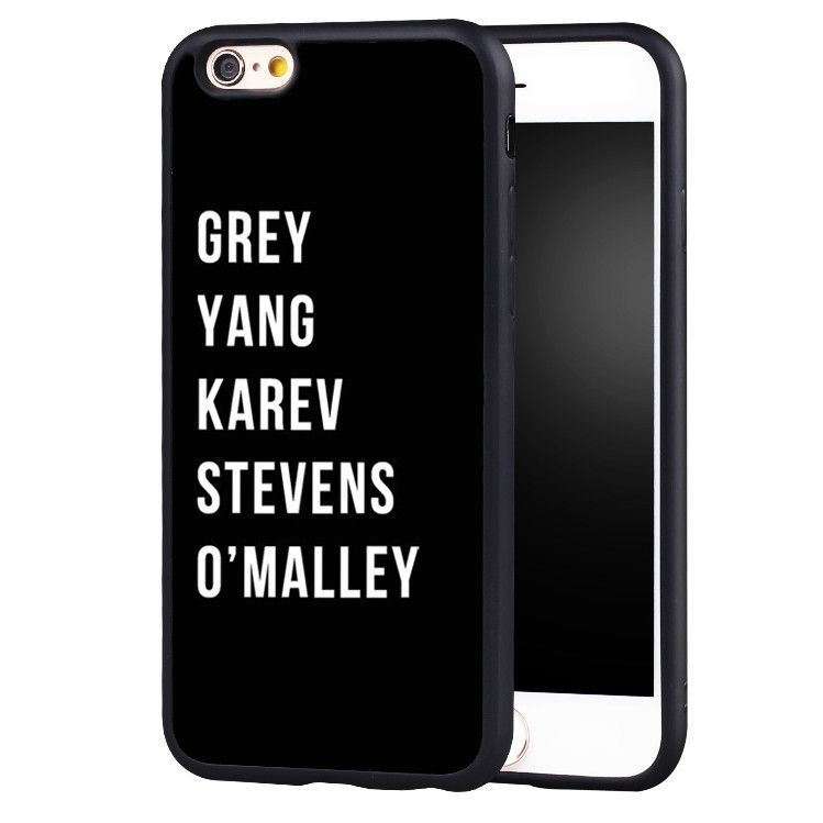 Grey\'s Anatomy Characters iPhone Case | Anatomy, Grays anatomy and Fans