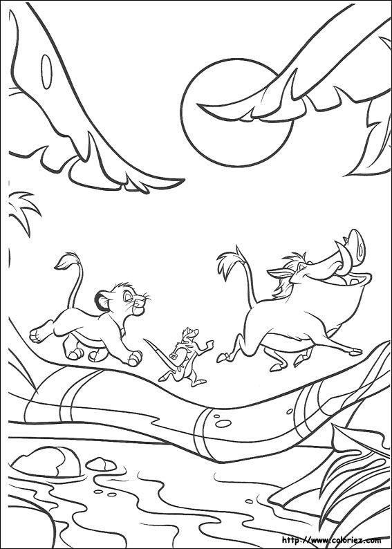Simba Timon And Pumba Hakunna Matada Disneys Lion King