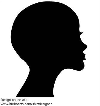 4a4170cceaaa6446b96d3a17a6267369 Woman Head Silhouette Clipart Bald Head Woman Clipart 335 355 Jpeg 335 Woman Face Silhouette Silhouette Face Silhouette Head
