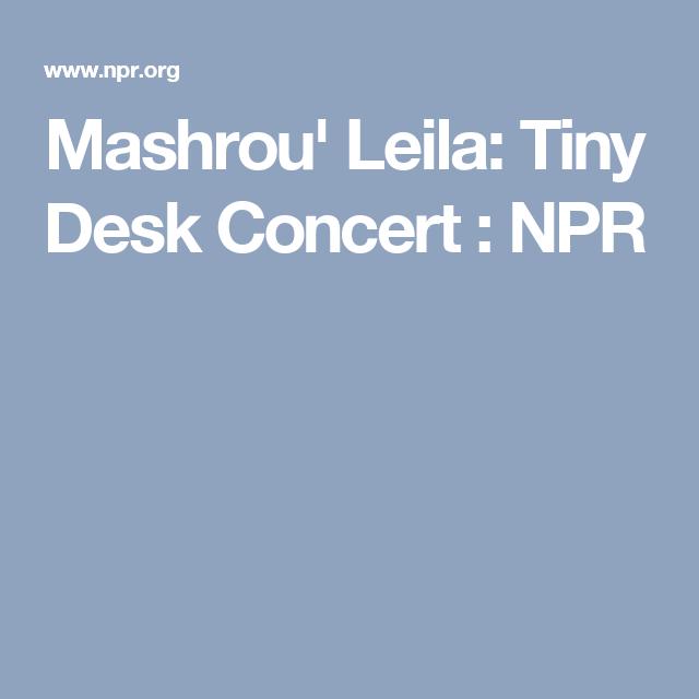 Tiny Desk Concert Beirut Straight Office Desk