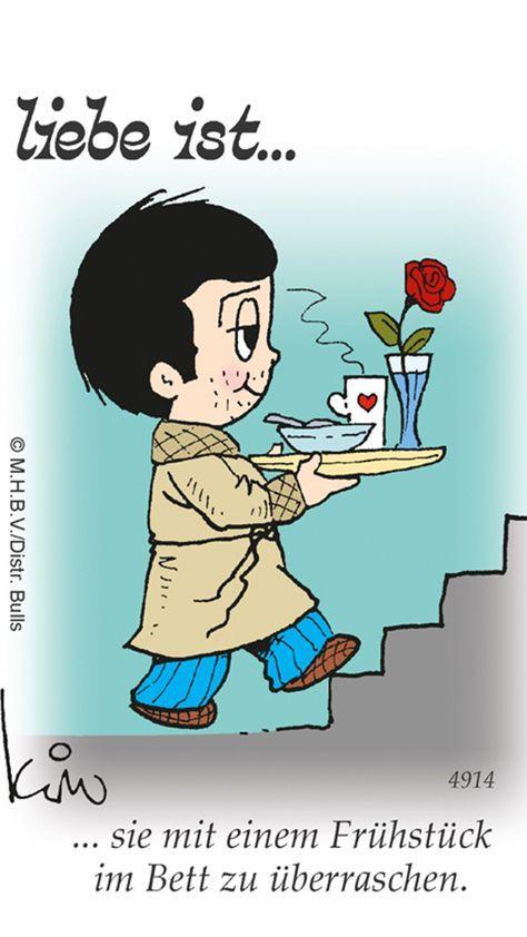 Liebe ist...Kaffee , O-Saft , Crossaint , Marmelade , Ei , Hmmm und mich.
