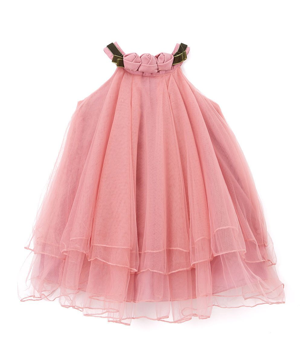 21db879011dc Look at this Blossom Couture Rose Rosette Tulle Dress - Infant ...